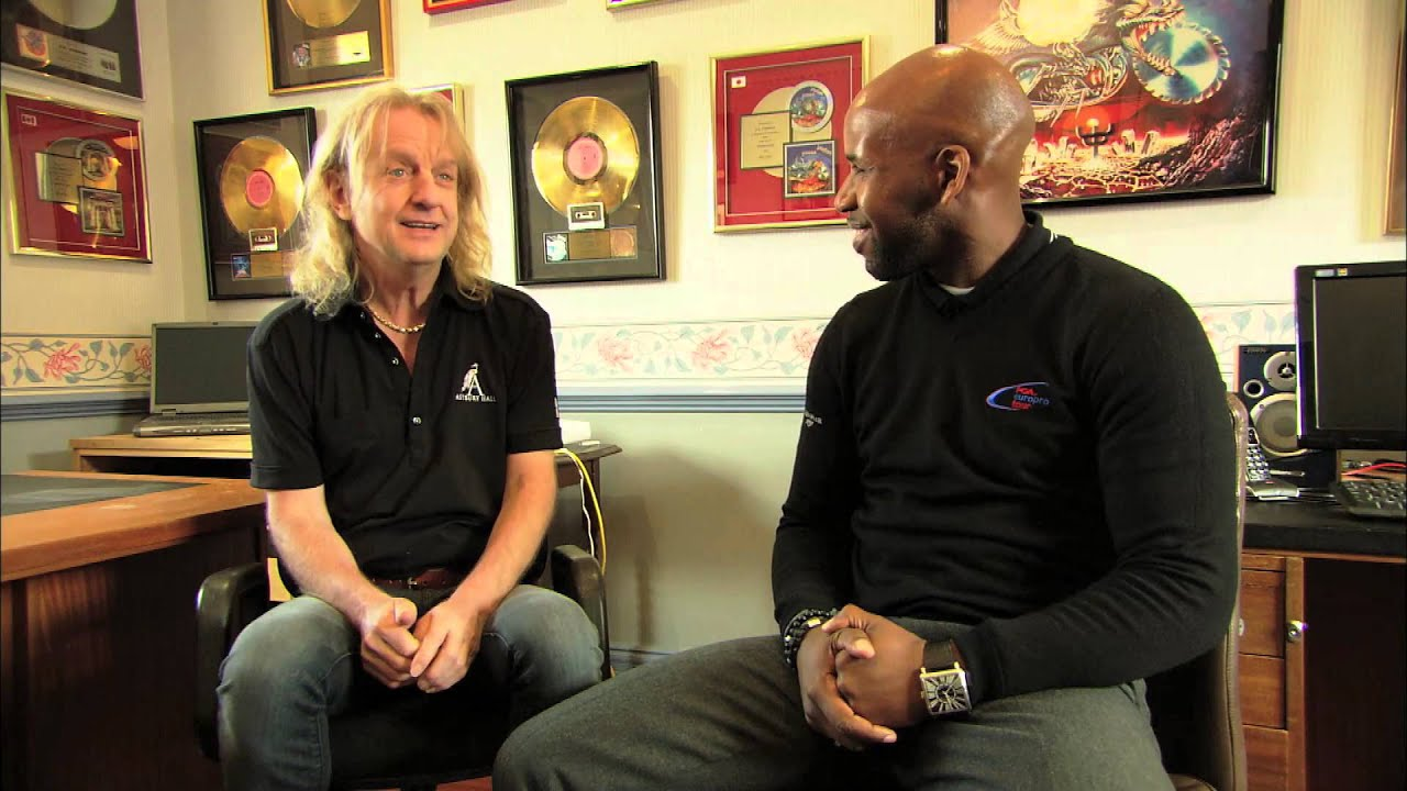 Kk Downing Being Interviewed During The Astbury Hall