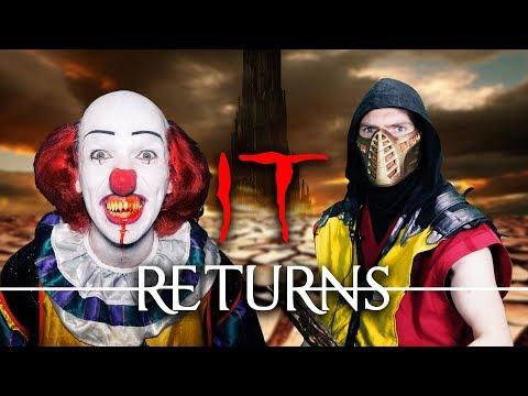 IT Returns! (BizarrelyFunny Real MK Halloween Special) | Pennywise vs MK11 PARODY!
