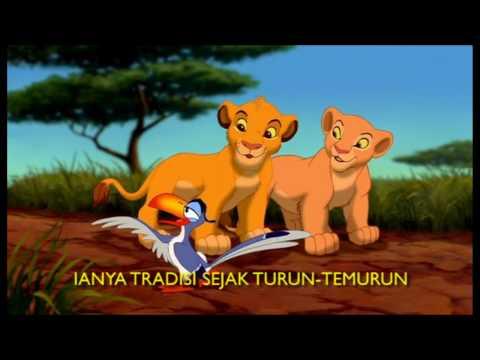 RAJA SINGA - KU TAK SABAR NAK JADI RAJA (MALAY VERSION) / THE LION KING