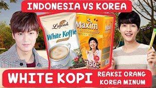 [Kopi INDO VS Kopi KOREA] Reaksi Orang Korea Minum KOPI INDONESIA | COWOK KOREA