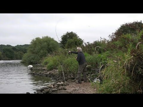 RIVER TRENT FLOAT AND FEEDER FISHING - VIDEO 59