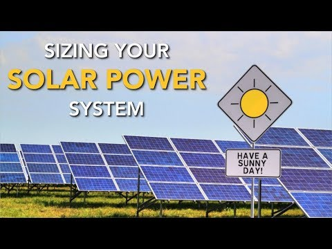 How Much Solar Power Do I Need How To Calculate Your Needs Youtube
