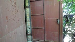 как просто и точно сделать своими руками дверь в гаражных воротах. (В гараже)