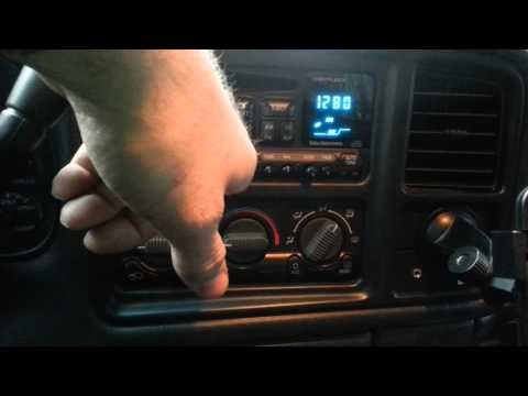 GM stock radio