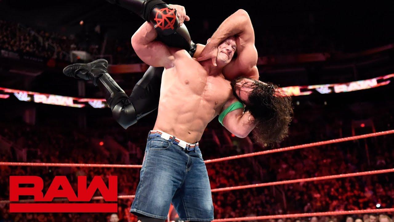 WWE John Cena and Seth Rollins