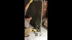 8 x 4 feet tile installation