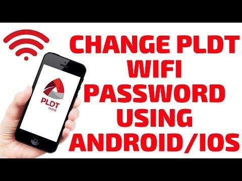 How to change my pldt mydsl wifi password