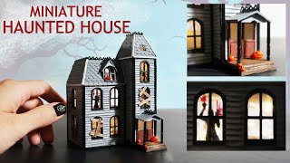 DIY Miniature Haunted House (ft. MagicFly Acrylic Paints)