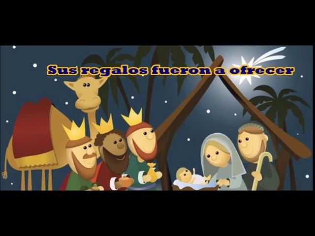 El Nacimiento De Jesús Letra Musica Para Niños Youtube