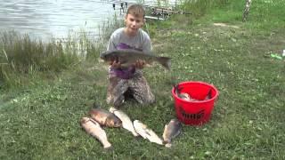 Отчет о рыбалке июнь 2015(Порыбачили за Днепродзержинском с 19 по 21 июня 2015. Всего поймали 26 кг рыбы. Из трофеев: толстолоб на 4 кг. и..., 2015-06-22T09:10:38.000Z)