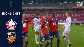 LOSC LILLE - FC LORIENT (4 - 0) - Highlights - (LOSC - FCL) / 2020-2021