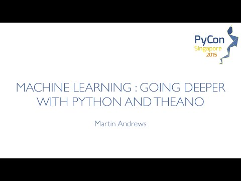 Image from Machine Learning: Going Deeper with Python and Theano