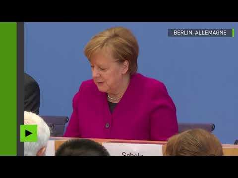 De la bière offerte par Angela Merkel à Vladimir Poutine