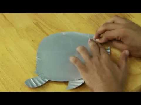 How To Make Paper Plate Tortoise Video -Art And Craft