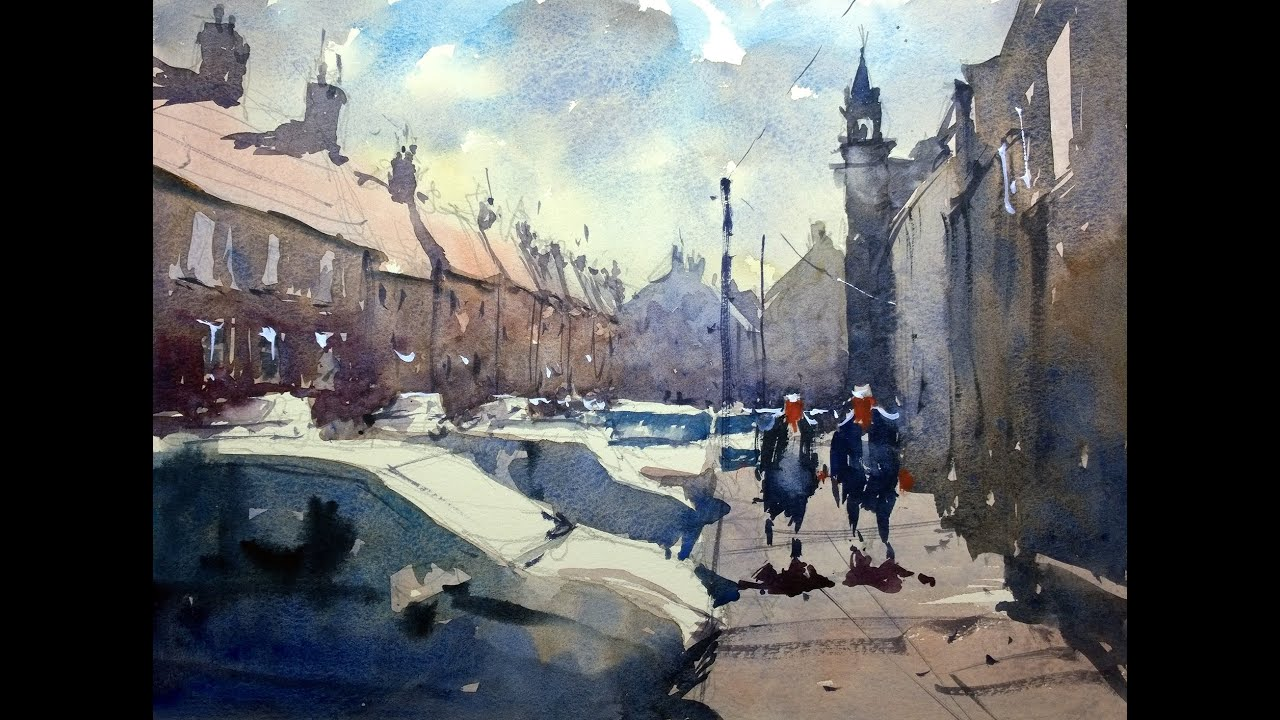 Watercolour Demonstration By Tim Wilmot How To Paint