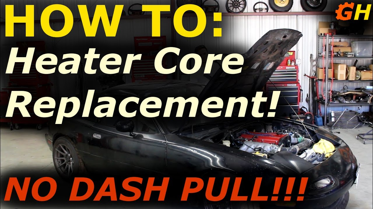 heater core replacement without dash pull reborn turbo miata build 27 [ 1280 x 720 Pixel ]