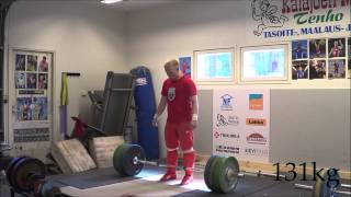 Milko Tokola 11.6.2014 just brutal training! тяжелая атлетика