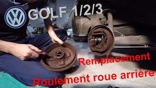 TUTO🔧15 : Remplacement roulement de roue arrière Golf 1/2/3