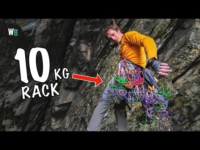 Britain's Biggest Roof Climb (100m, 3 Pitches)