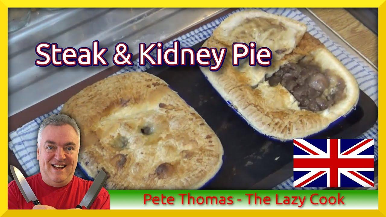 How to Cook British Steak & Kidney Pie - YouTube