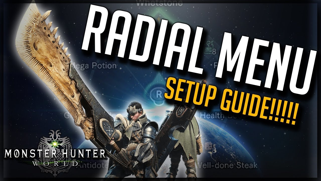 How To Setup Radial Menu How To Stop Radial Menu Resetting