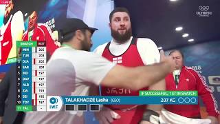ЛАША ТАЛАХАДЗЕ НОВЫЙ РЕКОРД МИРА 2018 / LASHA TALAKHADZE WORLD RECORDS   2018 WORLD CHAMPIONSHIPS