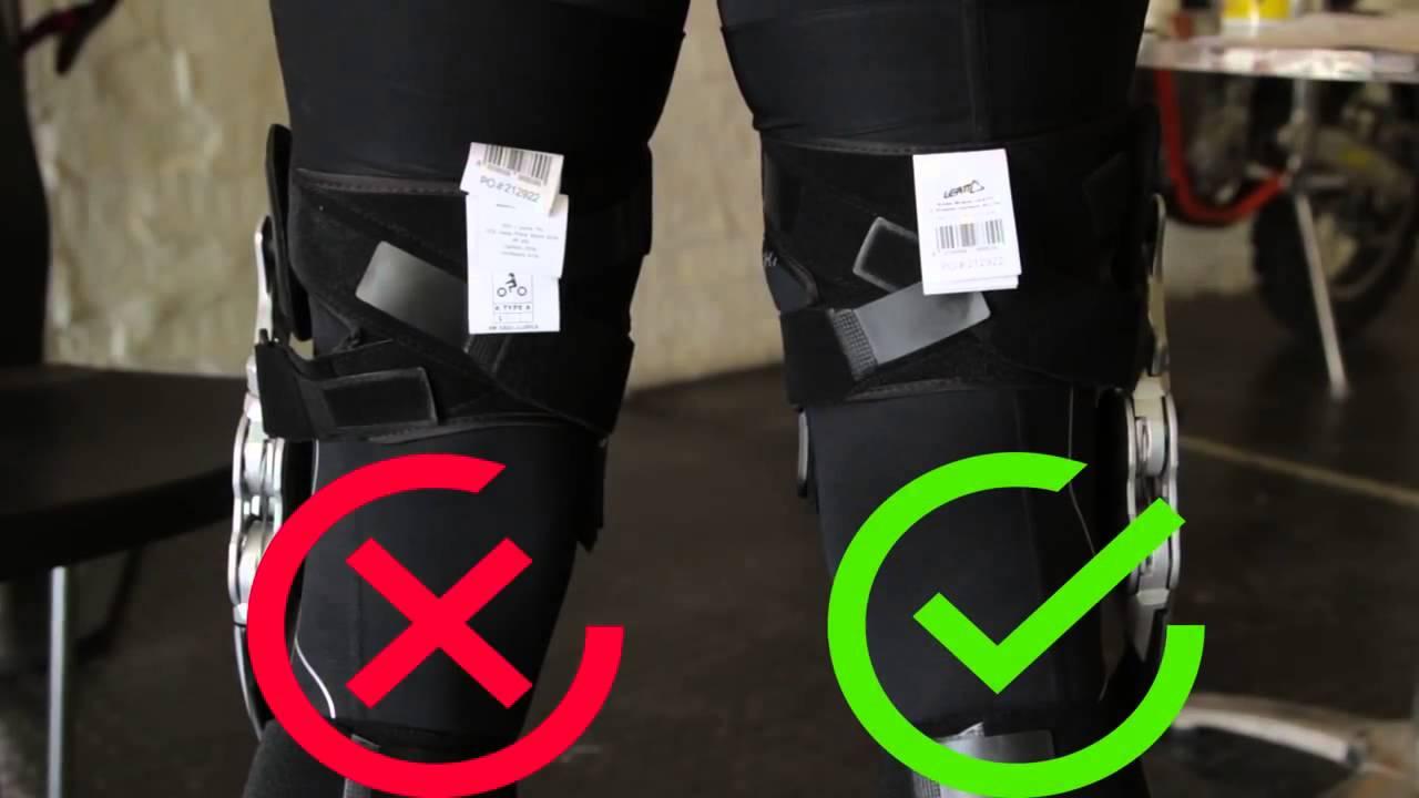 Leatt Knee Brace C Frame Youtube