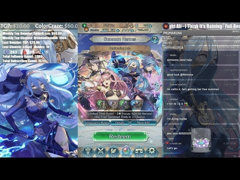 200+ Orbs Performing Arts Banner Summoning! Come Chat and Chill! :D 【Fire Emblem Heroes】