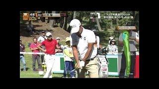 プロゴルファー小平智のドライバーショット!(スロー再生ショット分析) 小平智 動画 25