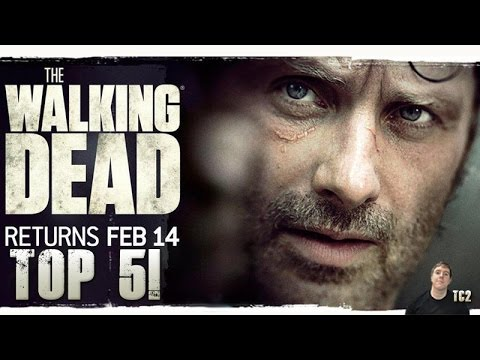 The Walking Dead Season 6 Second Half - Top 5 Most Anticipated Moments!