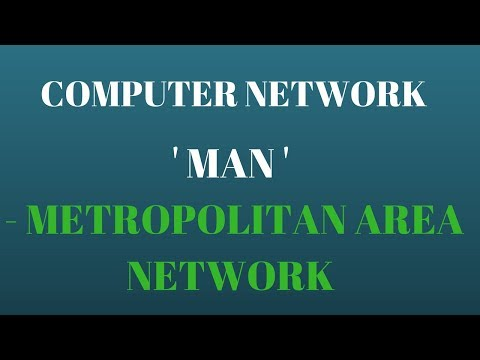 What is Metropolitan Area Network (MAN ) - Types of Network