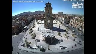 Pachuca, Hidalgo En Vivo | Vista de Plaza de la Independencia hacía el SUR