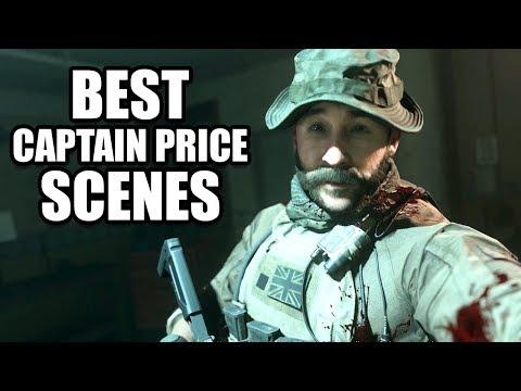 CALL OF DUTY MODERN WARFARE - Best Captain Price Scenes / Best Moments