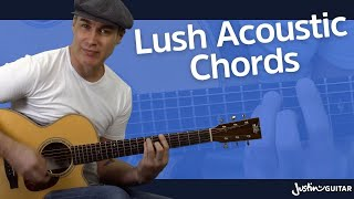 Lush Chords | Acoustic Guitar Lesson for Beginners
