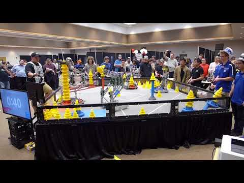 VEX Robotics In The Zone Oklahoma State Eliminations 40500H 1561B 40500X
