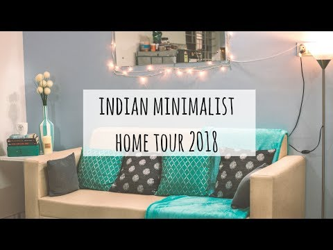 Updated Home Tour Indian | Minimalist Indian Home Tour 2018 | Indian Rented Apartment Tour