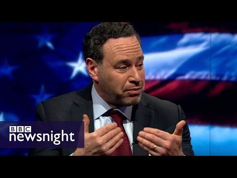 David Frum & Joe Klein on the Republican race - BBC Newsnight