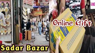 Online Shopping | Surprise Gift To Husband | Sadar Bazar Delhi
