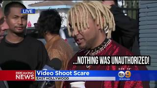 LAPD Shuts Down Hip Hop Music Shoot Bhanga Bangla