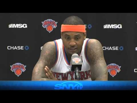 SNY: New York Knicks Media Day - 9/30/13