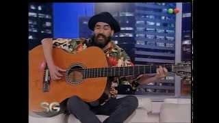 Hugo Varela, la guitarra grandota - Susana Gimenez 2007