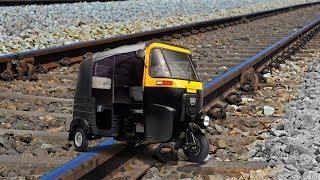 Train Vs Auto Rickshaw EXPERIMENT