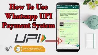 Whatsapp UPI Payment Full Tutorial in Hindi
