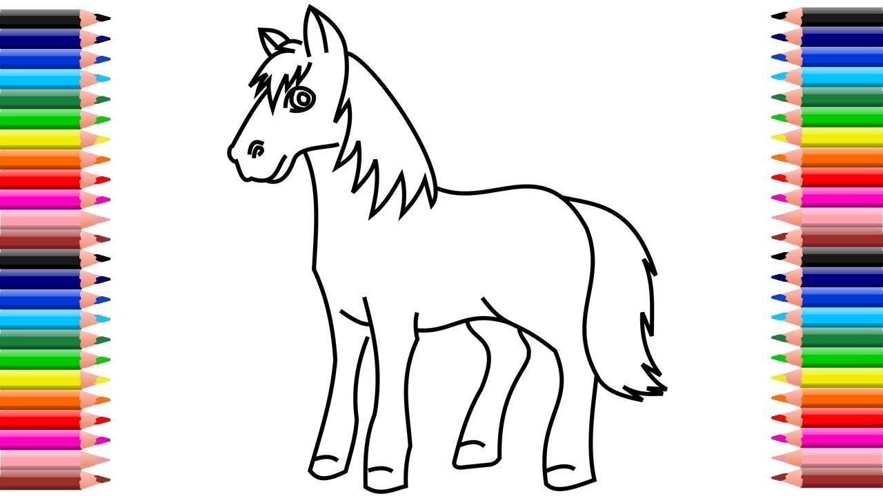 Como Dibujar Un Caballo Caballos Para Dibujar Faciles Dibujos De Caballos A Lapiz Faciles