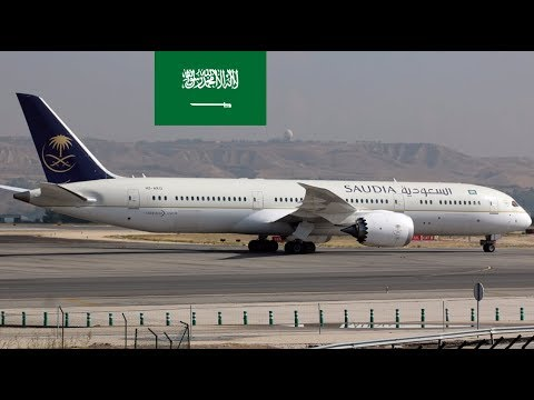 Airlines of Saudi Arabia with their fleet size (MARCH 2018 Report)