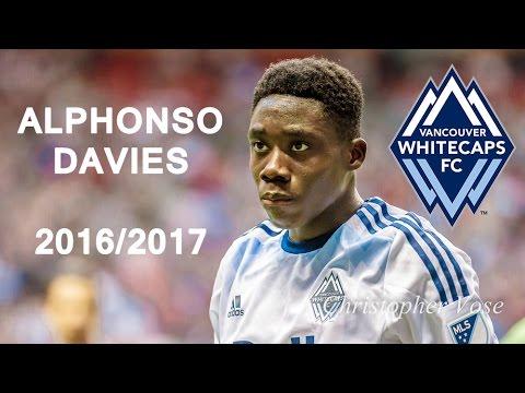 ALPHONSO DAVIES | Whitecaps FC | Goals, Skills, Assists |  2016/2017 (HD)
