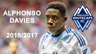 ALPHONSO DAVIES | Whitecaps FC | Goals, Skills, Assists |  2016/2017 (HD)