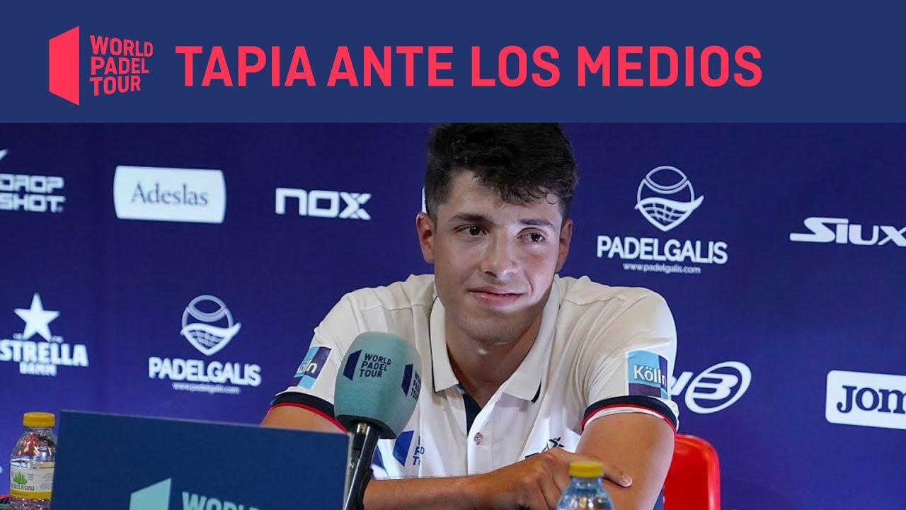 Rueda de prensa Agustín Tapia - Adeslas Open 2020
