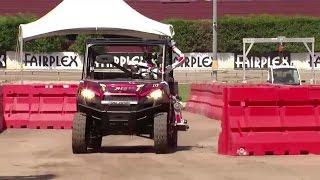 DRC-HUBO at UNLV driving a vehicle - DRC Finals 2015