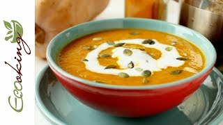 Пряный тыквенный суп-пюре / вкусный, легкий, сытный  / постный